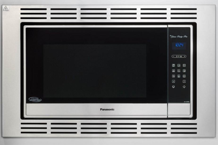 Le micro-ondes Prestige Plus de Panasonic... (PHOTO FOURNIE PAR LE FABRICANT)