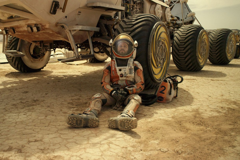 Matt Damon dans The Martian... (Photo fournie par 20th Century Fox)