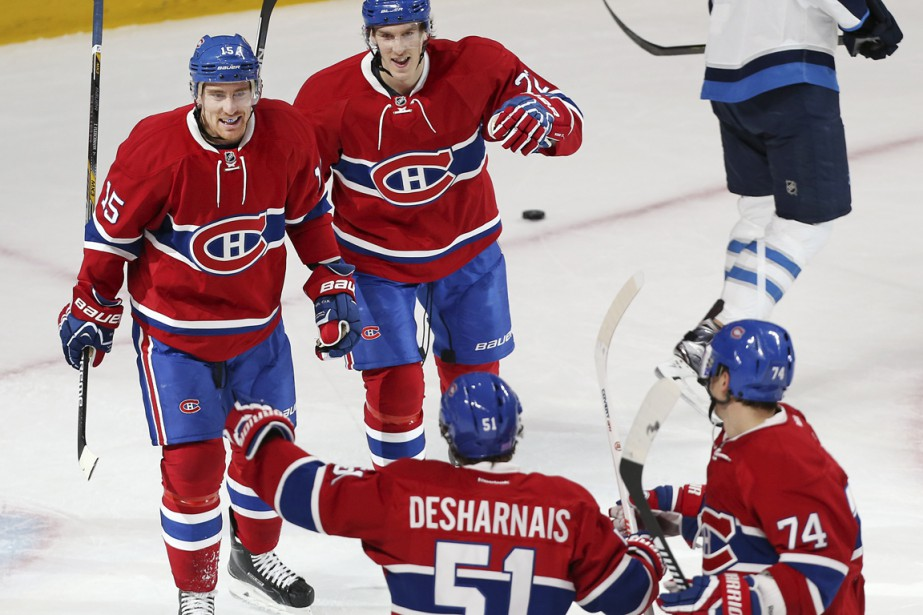 Tomas Fleischmann (15) donne raison au Canadien de lui avoir accordé un contrat. (Photo Robert Skinner, La Presse)