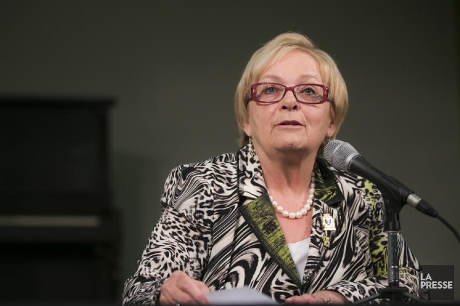 La mairesse sortante deLac-Mégantic,Colette Roy Laroche.... (PHOTO OLIVIER PONTBRIAND, ARCHIVES LA PRESSE)