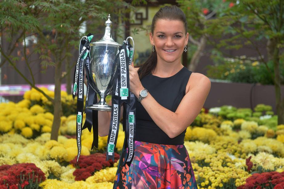 Agnieszka Radwanska a remporté les Finales de la... (Photo Mohd Fyrol, AFP)