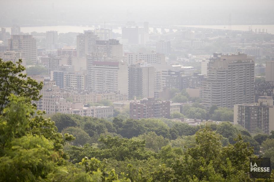Ce matin, Environnement Canada a émis un avertissement... (PHOTO DAVID BOILY, ARCHIVES LA PRESSE)