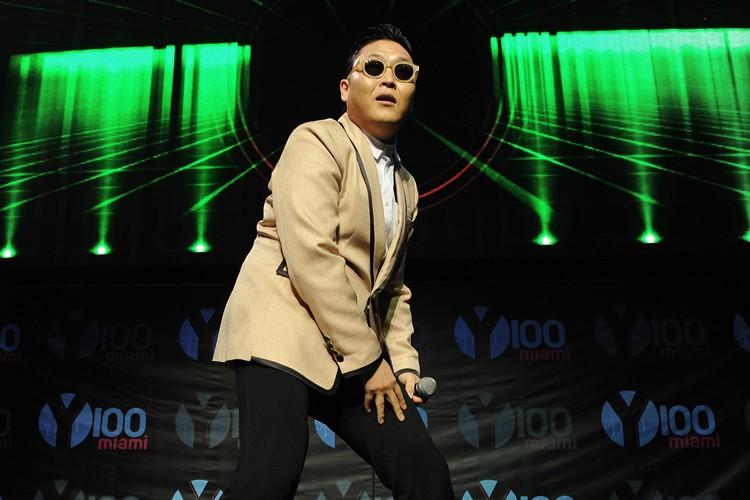 Pour certains de ses fans, Psy a un... (ARCHIVES AP)