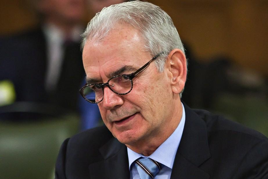 Le patron de l'UPAC Robert Lafrenière témoignait hier... (PHOTO CLÉMENT ALLARD, LA PRESSE CANADIENNE)