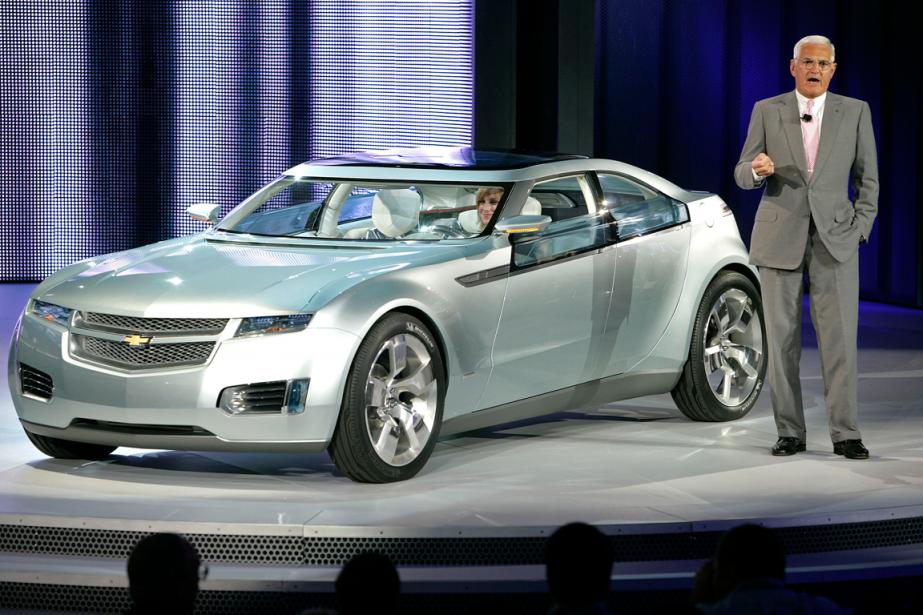 Bob Lutz, ancien vice-président de General Motors, lors... (Photo Jeffrey Sauger, archives Bloomberg)