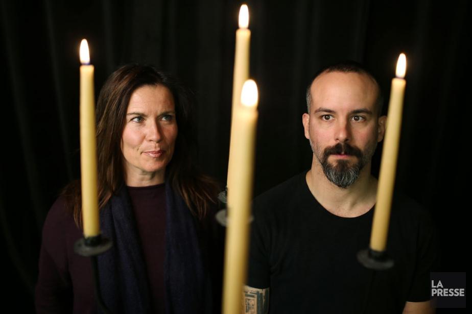 Le duo Julie & The Wolf est composé... (PHOTO MARTIN CHAMBERLAND, LA PRESSE)