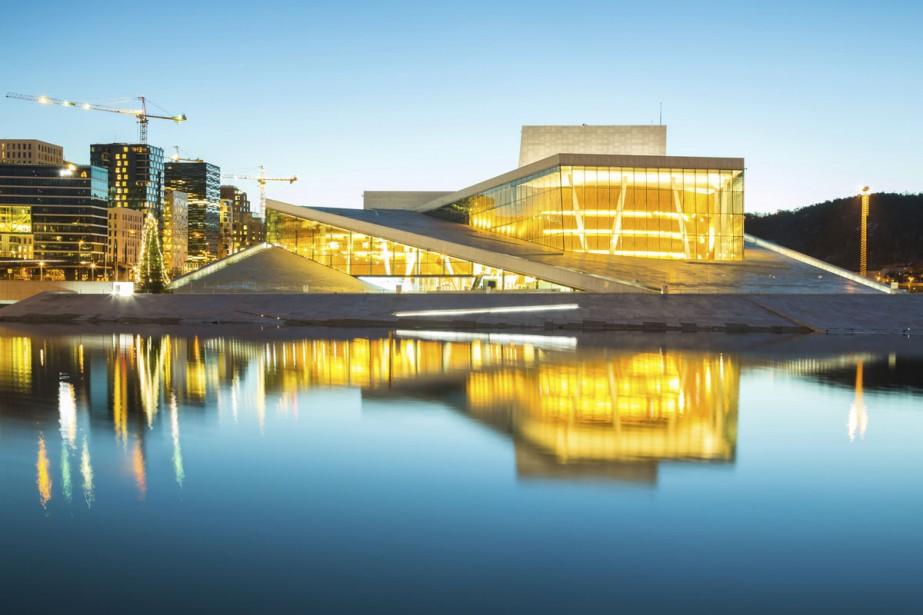 L'Opera House à Oslo.... (PHOTO THINKSTOCK)
