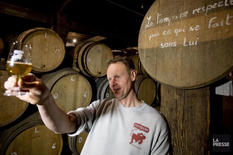 Jean Van Roy, propriétaire-brasseur à la brasserie Cantillon.... (PHOTO ALAIN ROBERGE, ARCHIVES LA PRESSE)
