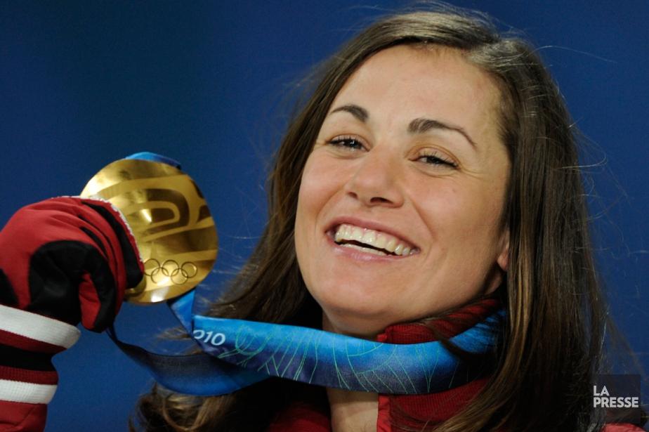 La planchiste canadienne Maëlle Ricker a remportéla médaille... (Photo Bernard Brault, archives La Presse)