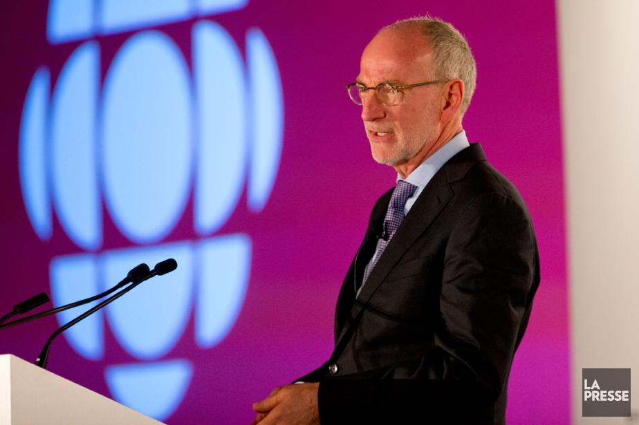 Hubert T. Lacroix, le PDG de CBC/Radio-Canada, a... (Photo Alain Roberge, archives La Presse)