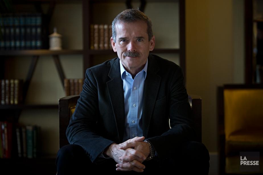 Premier Canadien à occuper le poste de commandant... (Photo Patrick Sanfaçon, La Presse)