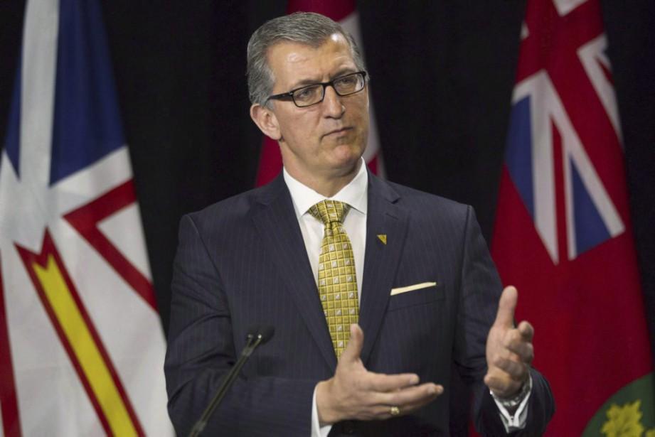 Paul Davis est premier ministre de Terre-Neuve-et-Labrador depuis... (PHOTO CHRIS YOUNG, ARCHIVES LA PRESSE CANADIENNE)