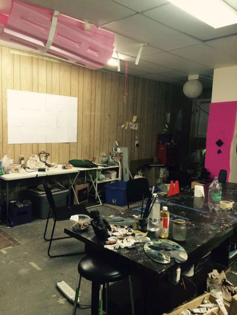 L'intérieur de la bâtisse avant les travaux. (Fournie par Sylvain Berthiaume)