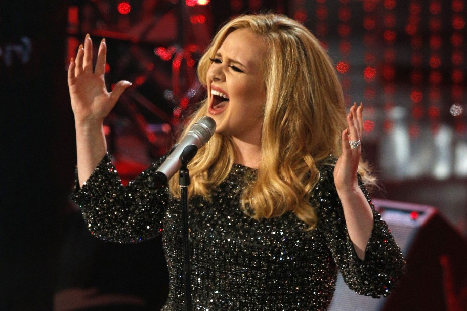 Adele... (PHOTO ARCHIVES REUTERS)