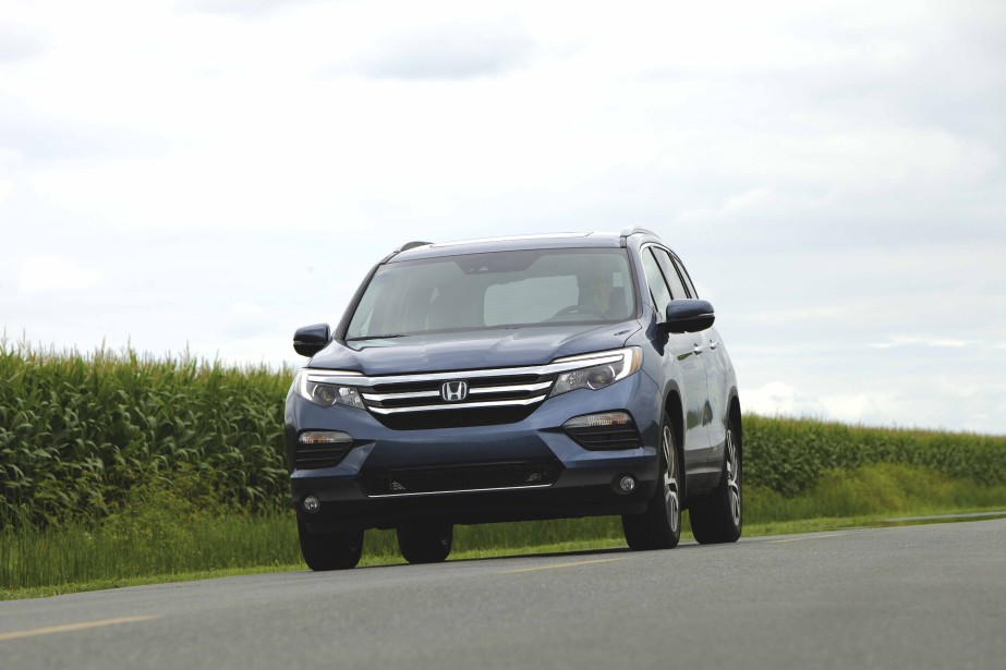 Honda Pilot (PHOTO ÉRIC LEFRANÇOIS, COLLABORATION SPÉCIALE)