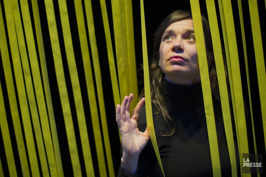 La chorégraphe Estelle Clareton... (PHOTO ÉDOUARD PLANTE-FRÉCHETTE, LA PRESSE)