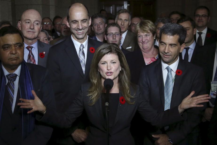 La députée Rona Ambrose a succédé à Stephen... (PHOTO CHRIS WATTIE, ARCHIVES REUTERS)