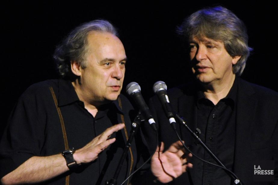 André Ménard et Alain Simard... (PHOTO BERNARD BRAULT, ARCHIVES LA PRESSE)