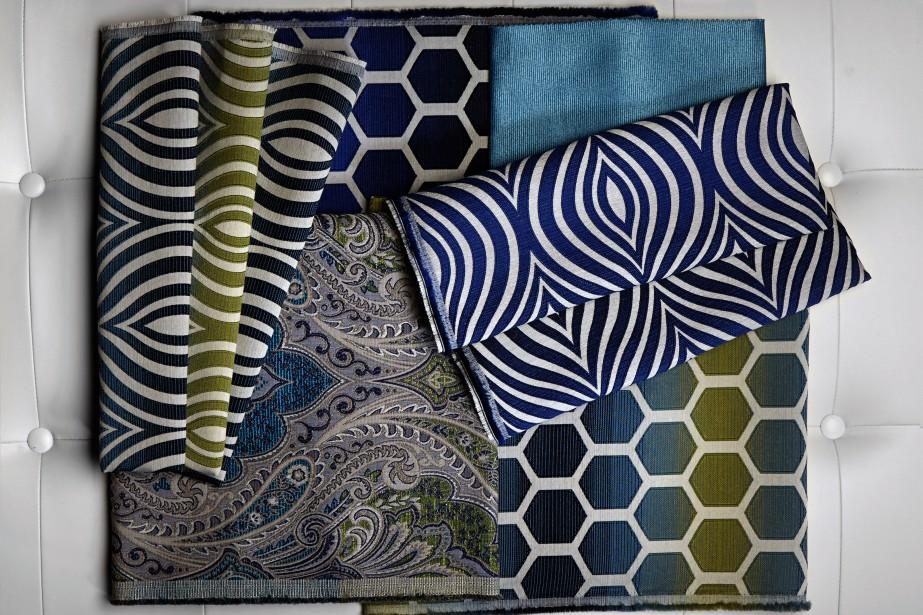 <span>Collection Chic Bohémien - La collection Chic Bohémien rappelle les marchés de Marrakech. Le décor Chic Bohémien se veut décontracté et intimiste. Aucune règle ne s'applique quant à l'agencement des couleurs et des motifs. Les imprimés sont complexes et texturés. Les riches nuances d'orangé, de rose, de turquoise, de rouge, de bleu, de jaune et de pourpre rehaussent n'importe quel décor. </span> (Fabricville)