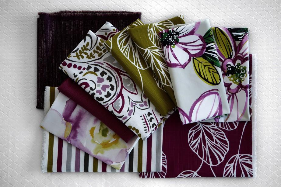 <span>Collection Jardin Nature </span><span>- Un vent de fraîcheur à l'intérieur, voilà l'effet que procure la collection Jardin Nature avec ses imprimés floraux audacieux et ses effets d'aquarelle. Les couleurs clé sont les nombreuses nuances de vert et les couleurs naturelles des fleurs telles que le jaune, le bleu, l'orangé, le rouge, le violet et le fuchsia.</span> (Fabricville)