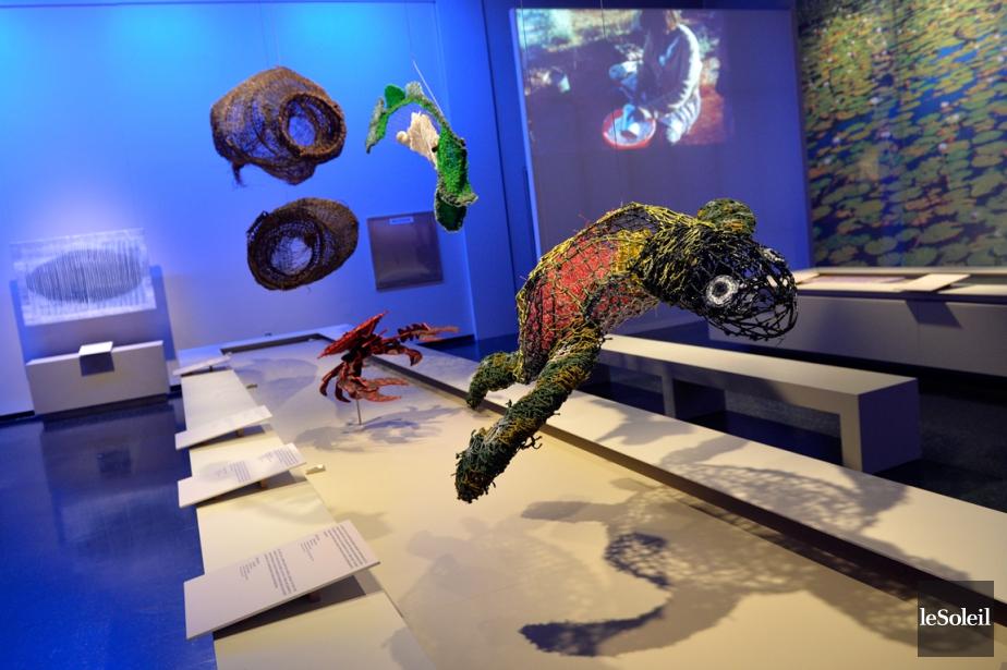 Le Musée de la civilisation de Québec expose... (PHOTO PASCAL RATTHÉ, LE SOLEIL)