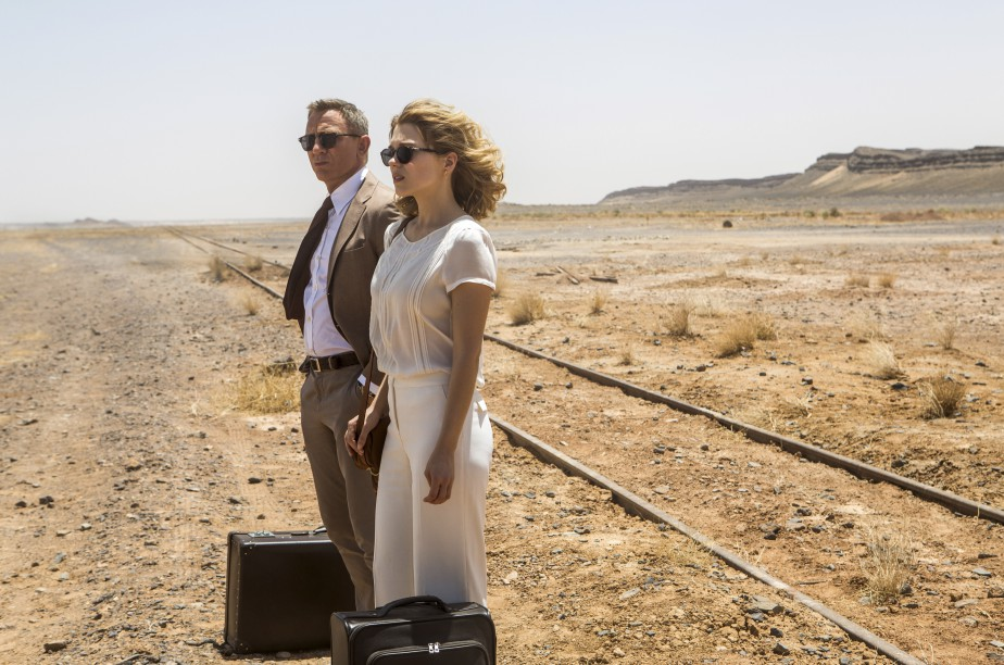 Daniel Craig et Léa Seydoux (Fournie par Columbia Pictures)