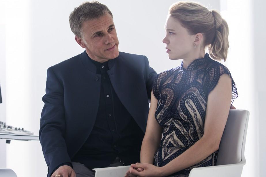 Christoph Waltz et Léa Seydoux (Fournie par Columbia Pictures)