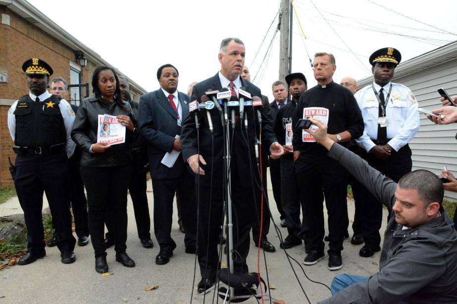 «Tyshawn Lee a été abattu lors du crime... (Photo Brian Jackson, Chicago Sun Times/AP)