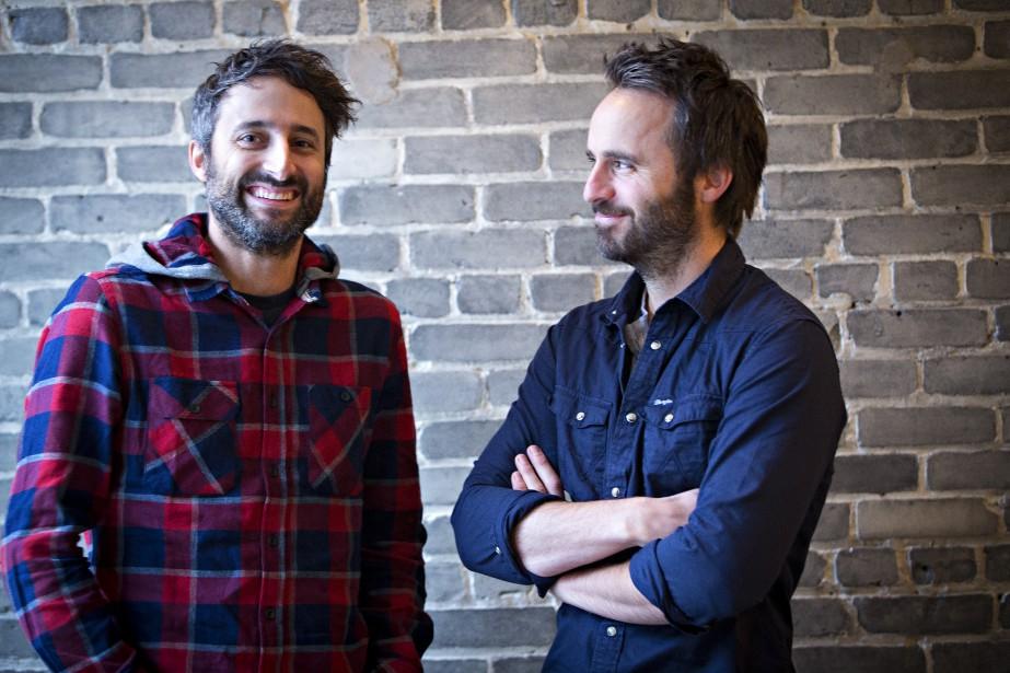 Louis-Jean Cormier et Louis-José Houdeont accepté de comparer... (PHOTO OLIVIER JEAN, LA PRESSE)