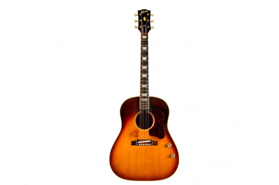 Selon Julien's Auctions, l'instrument a disparu pendant le... (Photo REUTERS/Julien's Auctions)