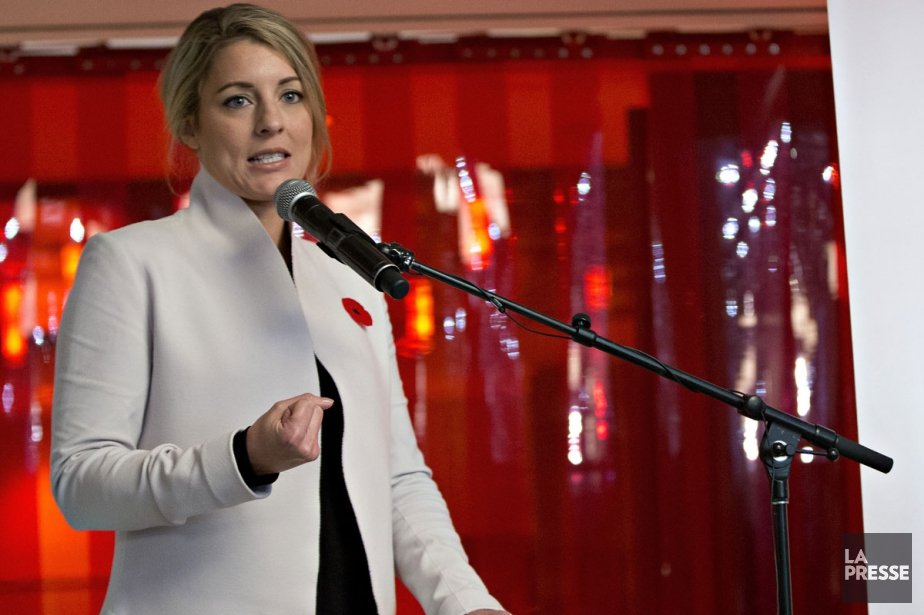 Mélanie Joly, ministre fédérale du Patrimoine.... (PHOTO OLIVIER JEAN, ARCHIVES LA PRESSE)