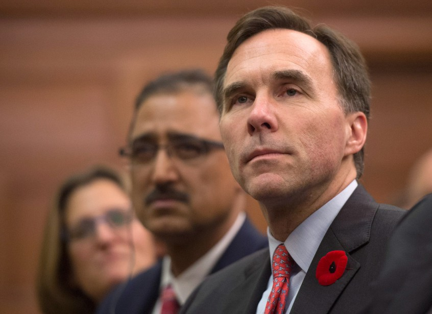 Le choix de Bill Morneau comme ministre des... (PHOTO SEAN KILPATRICK, LA PRESSE CANADIENNE)