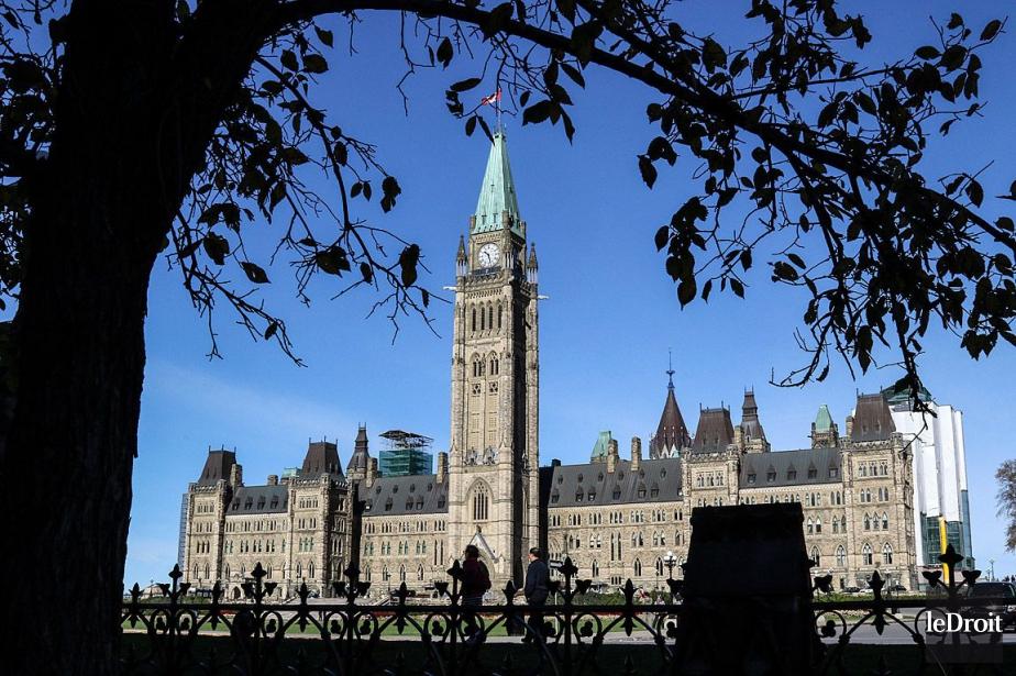 Le parlement du Canada, à Ottawa.... (PHOTO PATRICK WOODBURY, ARCHIVES LE DROIT)