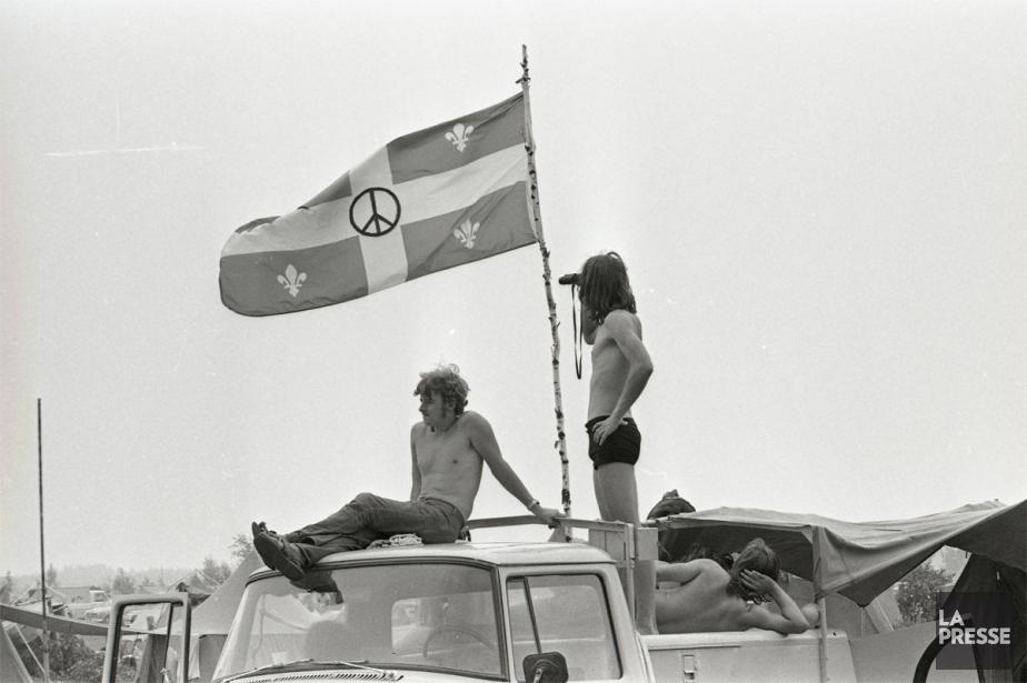 Un an après le festival de Woodstock qui... (PHOTO MICHEL GRAVEL, ARCHIVES LA PRESSE)