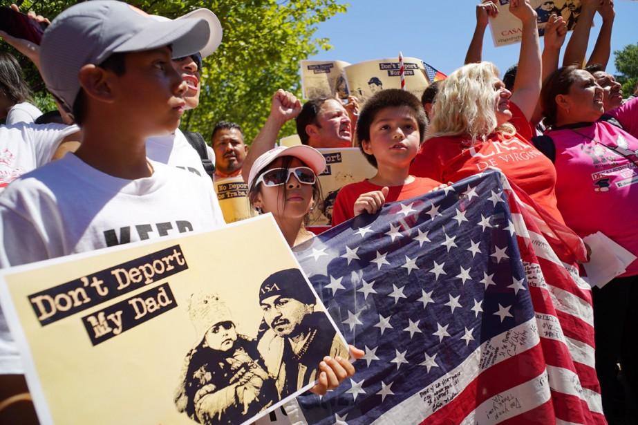 Mesure-phare des réformes d'Obama: tout immigré sans papiers... (PHOTO MANDEL NGAN, ARCHIVES AFP)