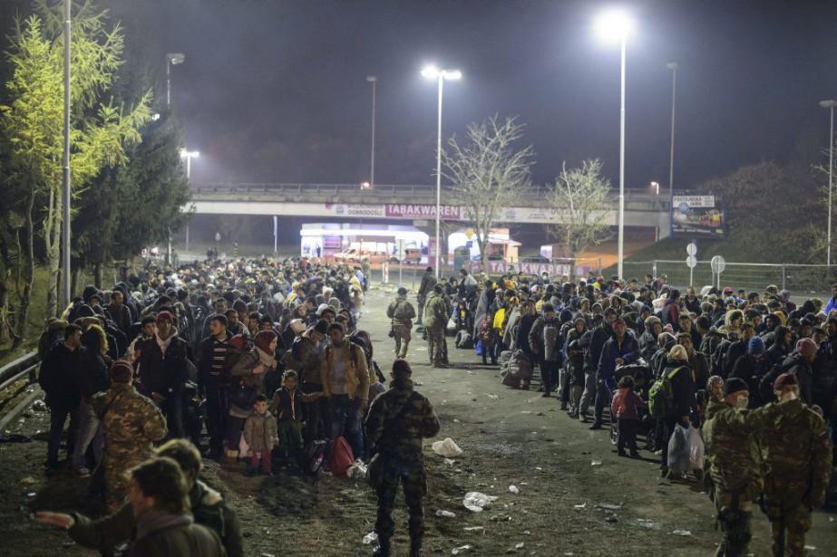 La Slovénie, qui a vu transiter plus de... (Photo Rene Gomolj, Archives AFP)