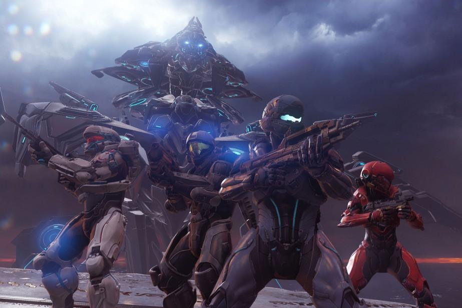Techniquement, Halo 5 est le plus beaude la...