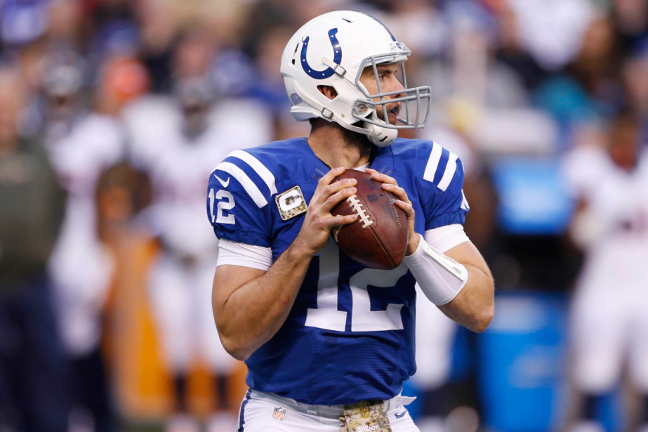 Andrew Luck... (Photo Brian Spurlock, USA Today)
