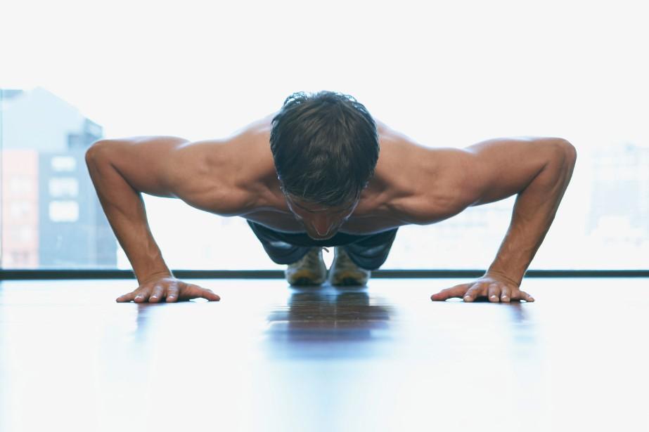 L'entraînement par le poids du corps est très simple: il... (Photo Masterfile)