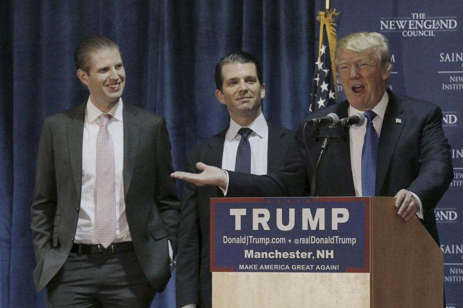 Donald Trump a expliqué que s'il était élu,il... (PHOTO BRIAN SNYDER, REUTERS)