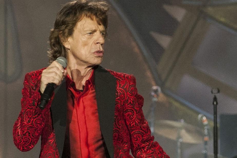 Mick Jagger... (PHOTO ARCHIVES AP)