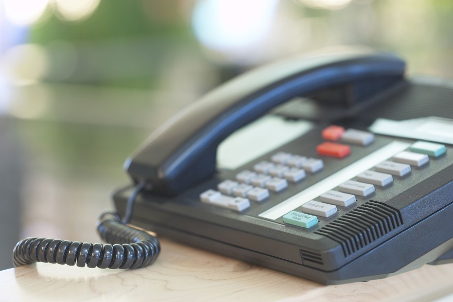 Le téléphone fixe demeure le principal outil de... (PHOTO FOURNIE PAR THINKSTOCK)