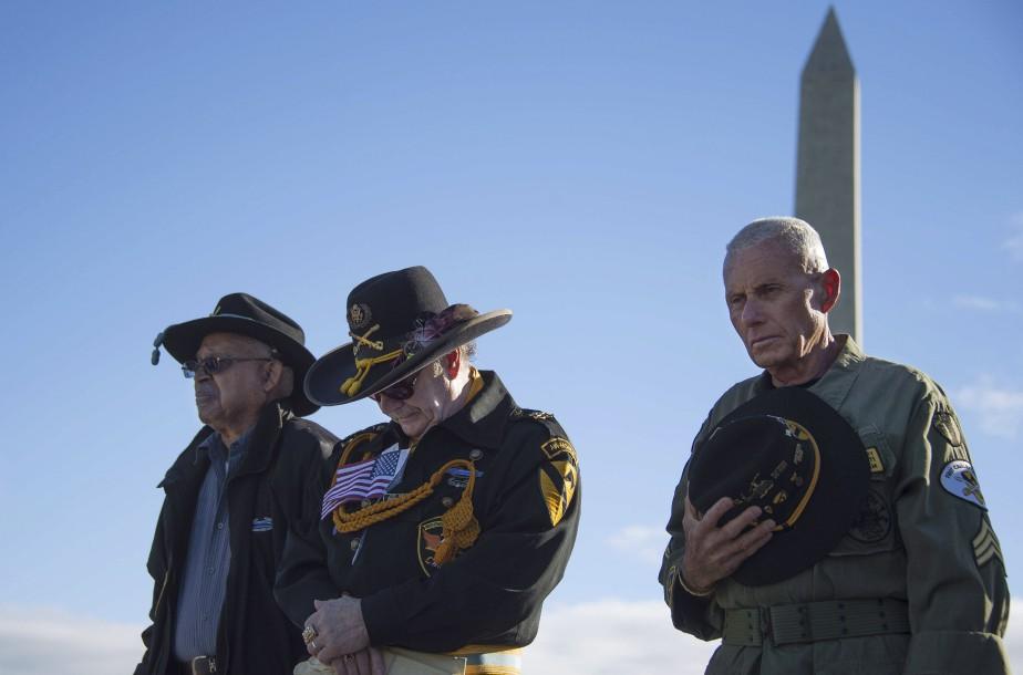 À Washington (Photo AFP, Jim Watson)