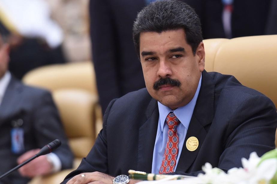 Le président vénézuélien, Nicolas Maduro... (PHOTO FAYEZ NURELDINE, AFP)