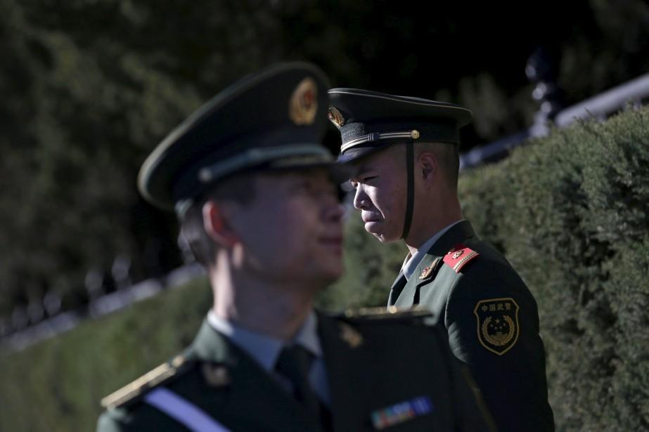 «Pour la police (chinoise), obtenir des aveux est... (PHOTO ARCHIVES REUTERS)