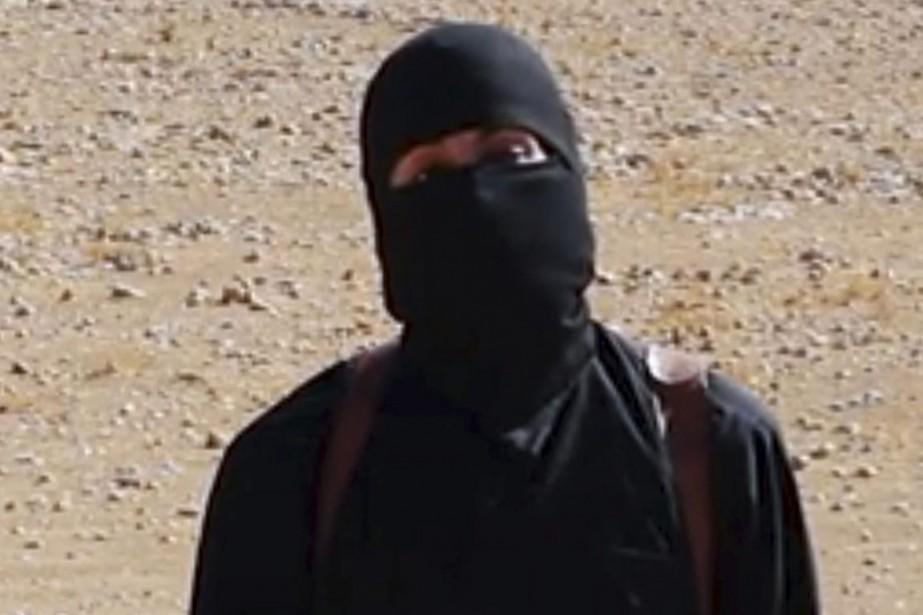 Jihadi John, de son vrai nom Mohamed Emwazi,... (Photo tirée d'une vidéo, via AP)