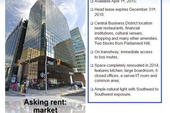 Québec a retenu les services d'un courtier immobilier... (IMAGE FOURNIE PAR DEVENCORE SERVICES IMMOBILIERS)