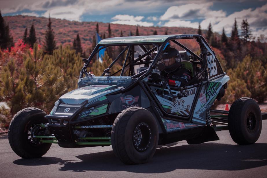 Les courses du Championnat canadien de rallycross se dérouleront d'abord sur des pistes du Québec, mais une expansion ailleurs au Canada est déjà envisagée. (Photo Éric Auclair, fournie par le CCRA)