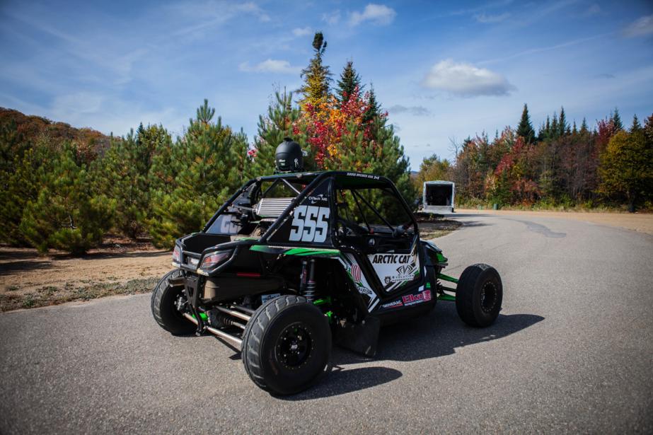 Faire du rallycross avec un autoquad constituera l'une des formes de course automobile les plus accessibles. (Photo Éric Auclair, fournie par le CCRA)