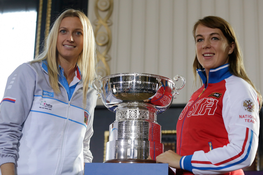 La Tchèque Petra Kvitova affrontera la Russe Anastasia... (Photo Petr David Josek, AP)